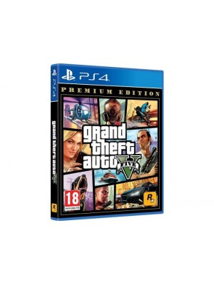DISK SONY PS4 GRAND THEFT AUTO V PREMIUM EDITION GTA