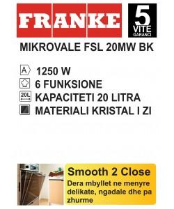 MIKROVALE FRANKE FSL 20 MW BK