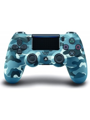 LEVE PLAYSTATION SONY PS4 DUALSHOCK V2 WIRELESS BLU CAMOUFLAGE
