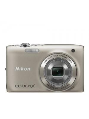 APARAT FOTO NIKON 14MP 26mm S3100 SILVER