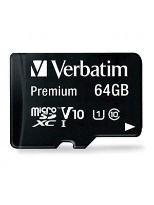 KARTE MEMORIE VERBATIM MICRO SDXC 64GB